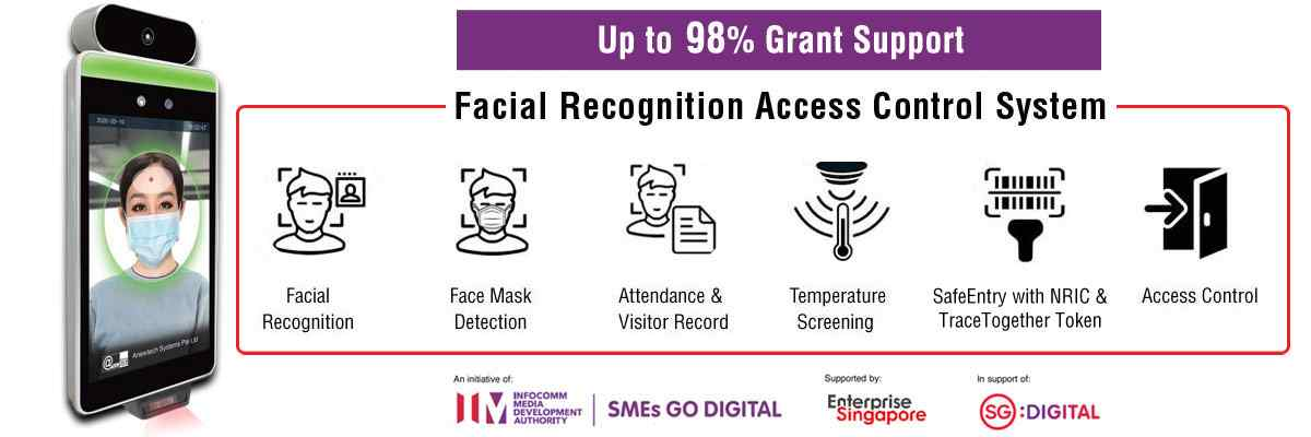 Anewtech-facial-recognition-access-control-system