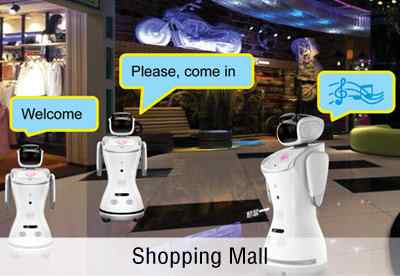 Anewtech-sanbot-shopping-mall